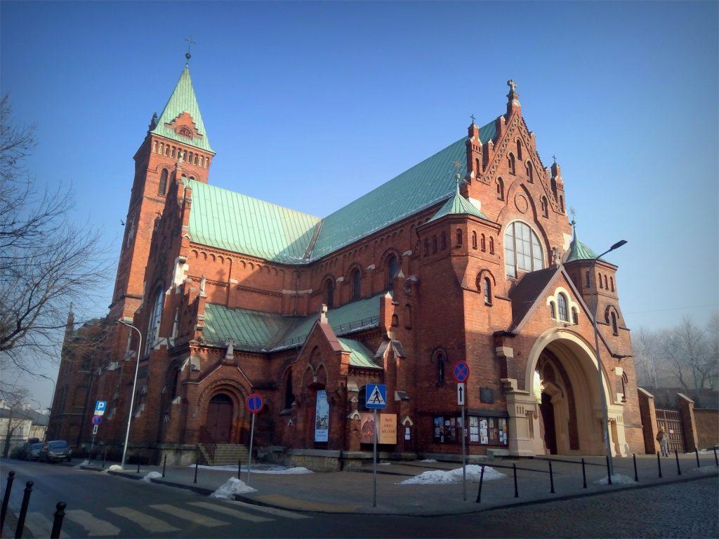 Widok na kościół ojców redemptorystów
