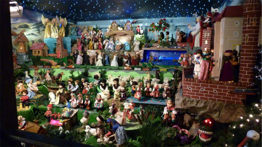 Całoroczna szopka bożonarodzeniowa w klasztorze Redemptorystów