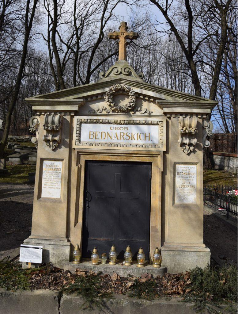 Grób rodziny Bednarskich na starym cmentarzu Podgórskim