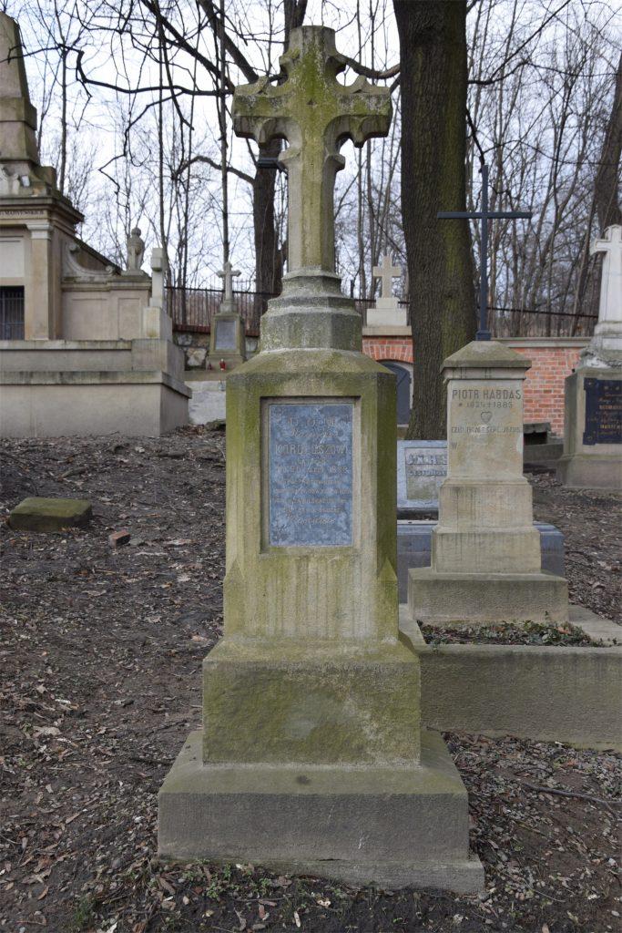 Grób młynarza na starym cmentarzu podgórskim